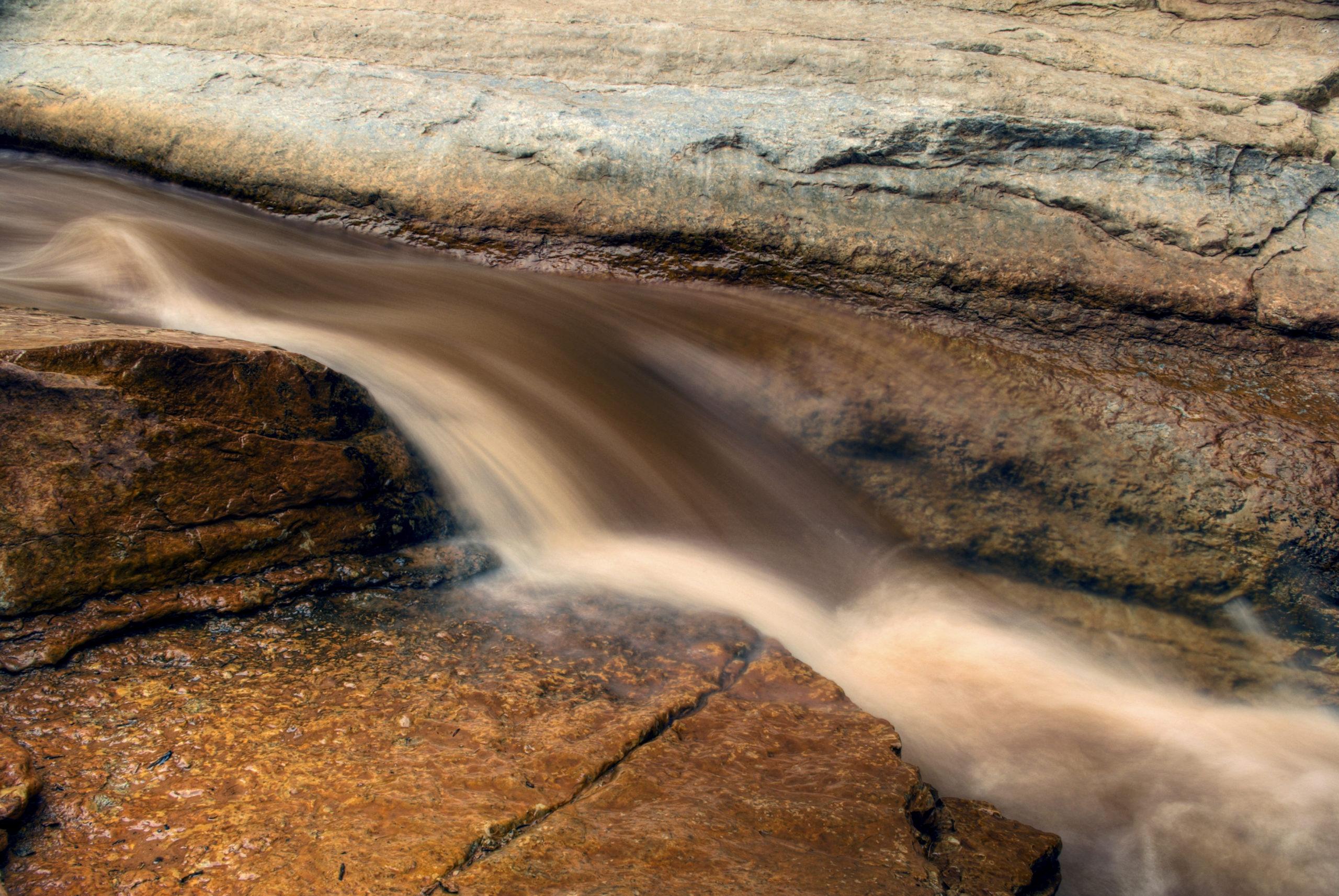 Water in Sulphur Creek