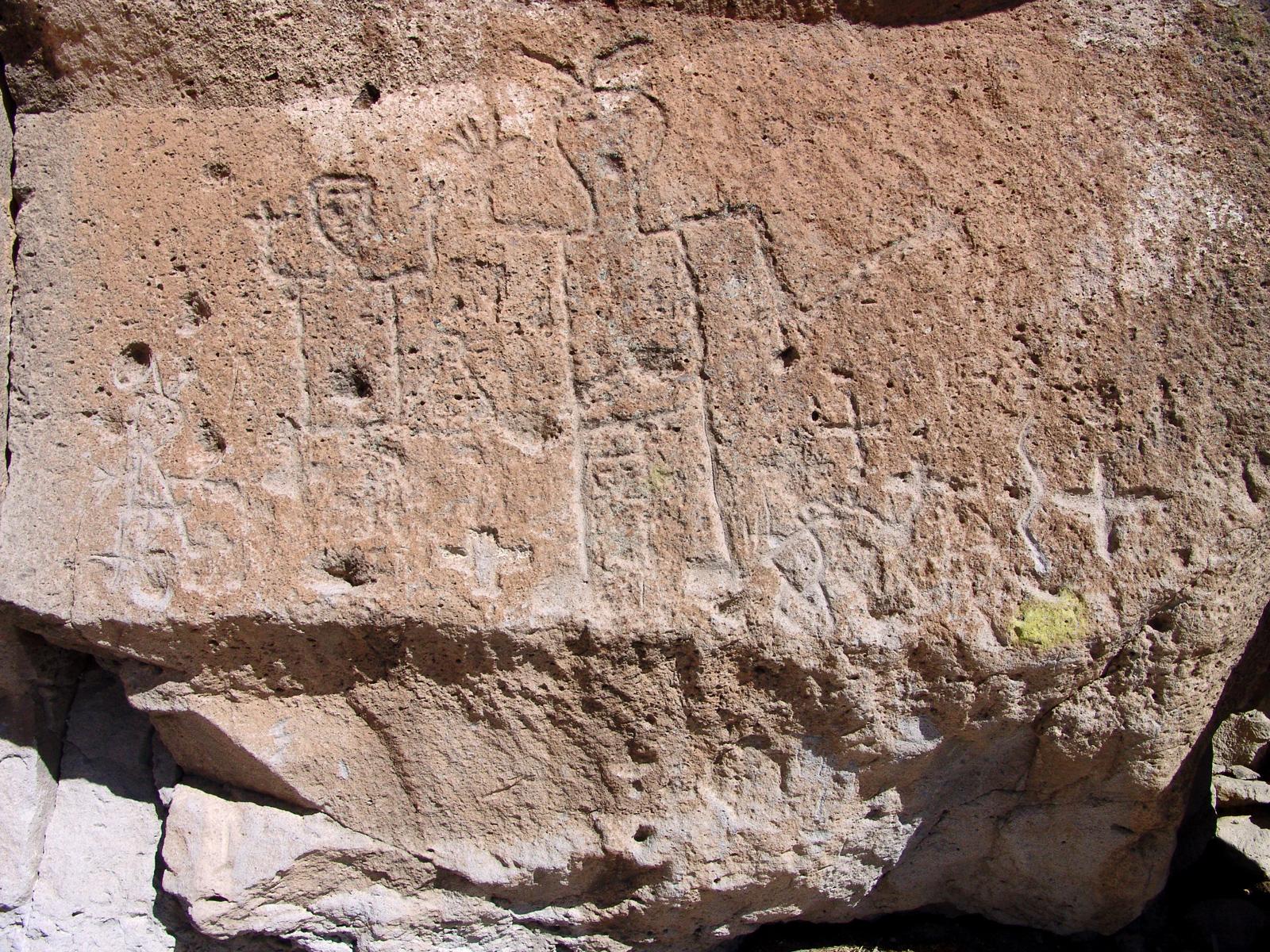 Pueblo Petroglyphs