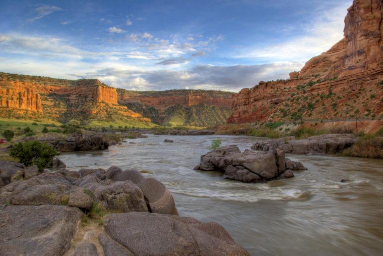 Black Rocks on the Colorado River