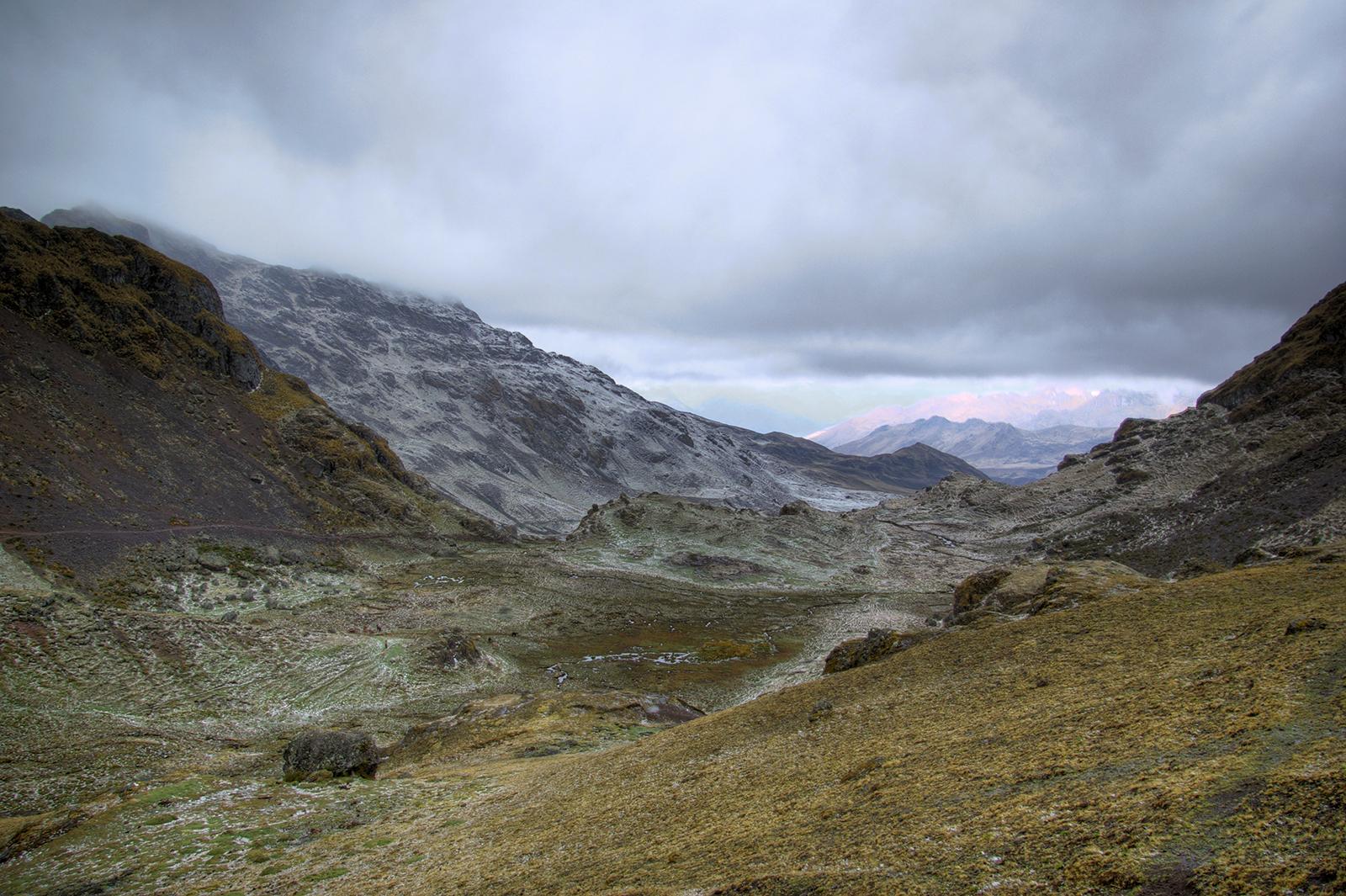 Hailstorm on Ipsayjasa Pass