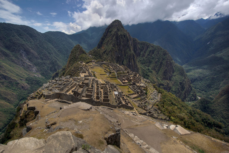 View from the Machu Picchu Guardhouse
