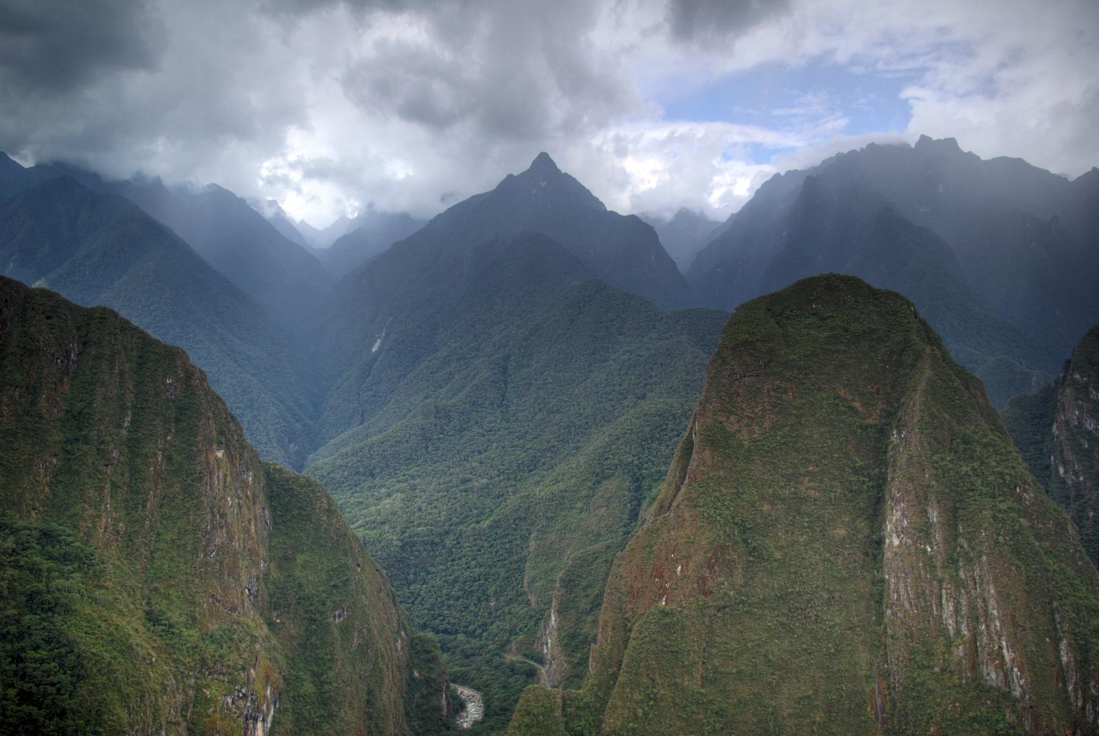 Andean Mountains near Machu Picchu