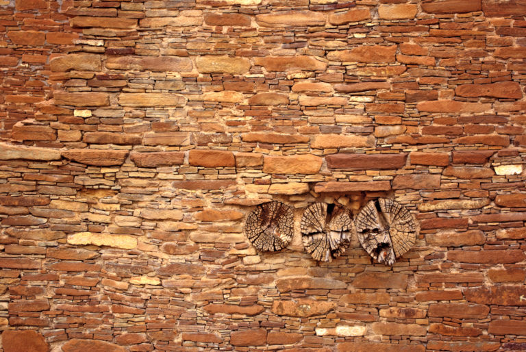 Puebloan Wall