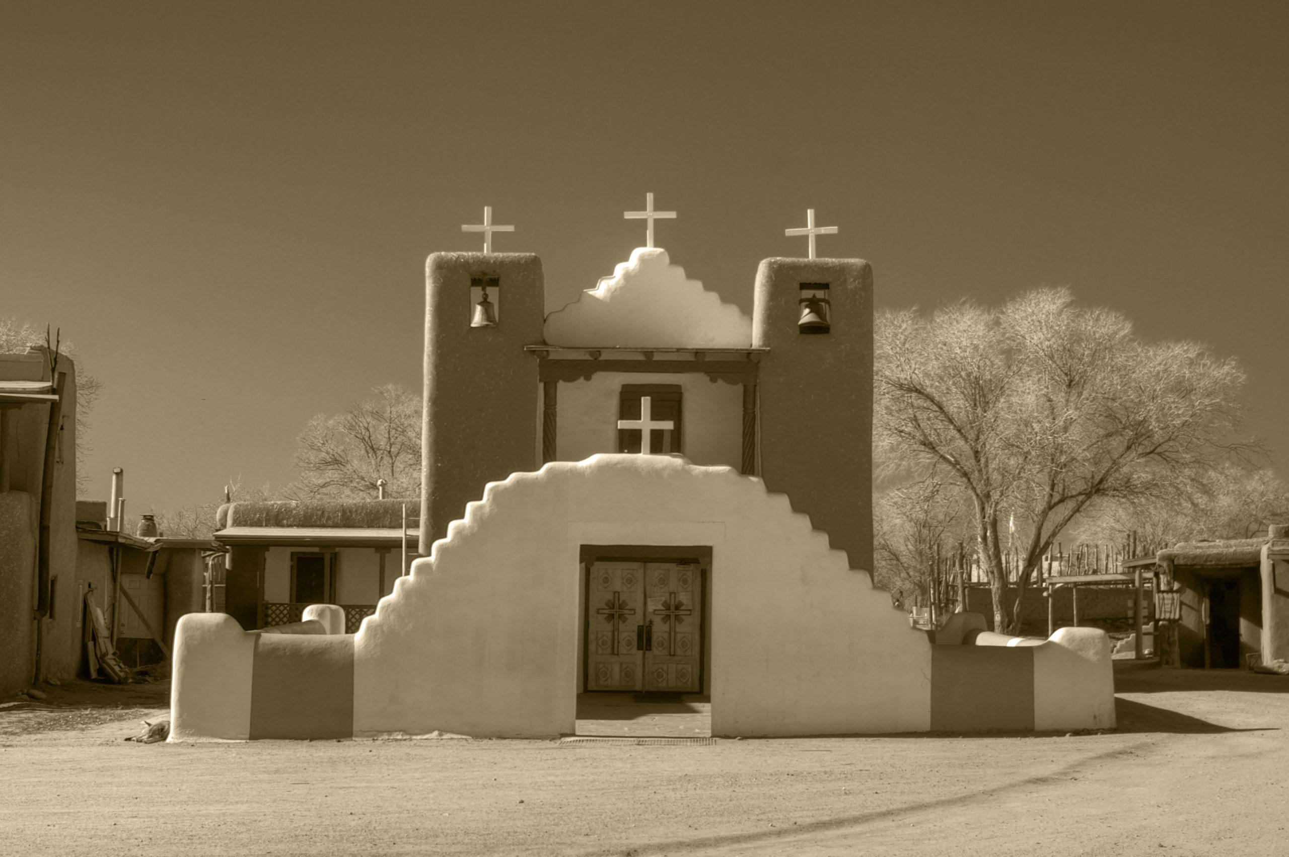 San Geronimo Chapel (Taos Pueblo Church)