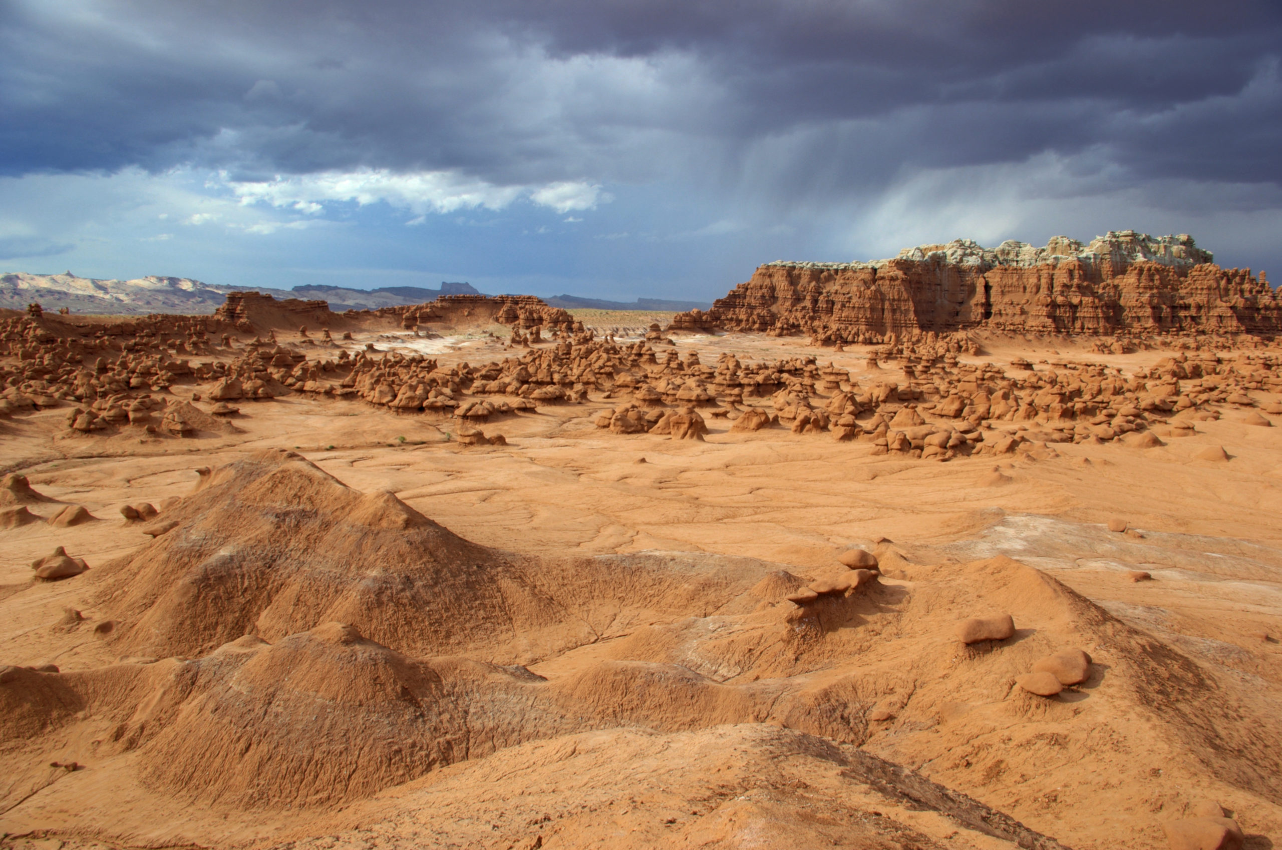 Hoodoos and a Thunderstorm