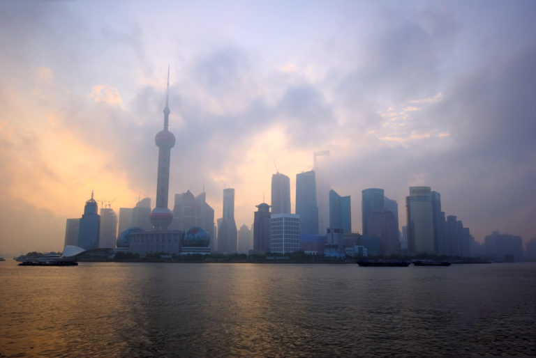 Pudong at Sunrise