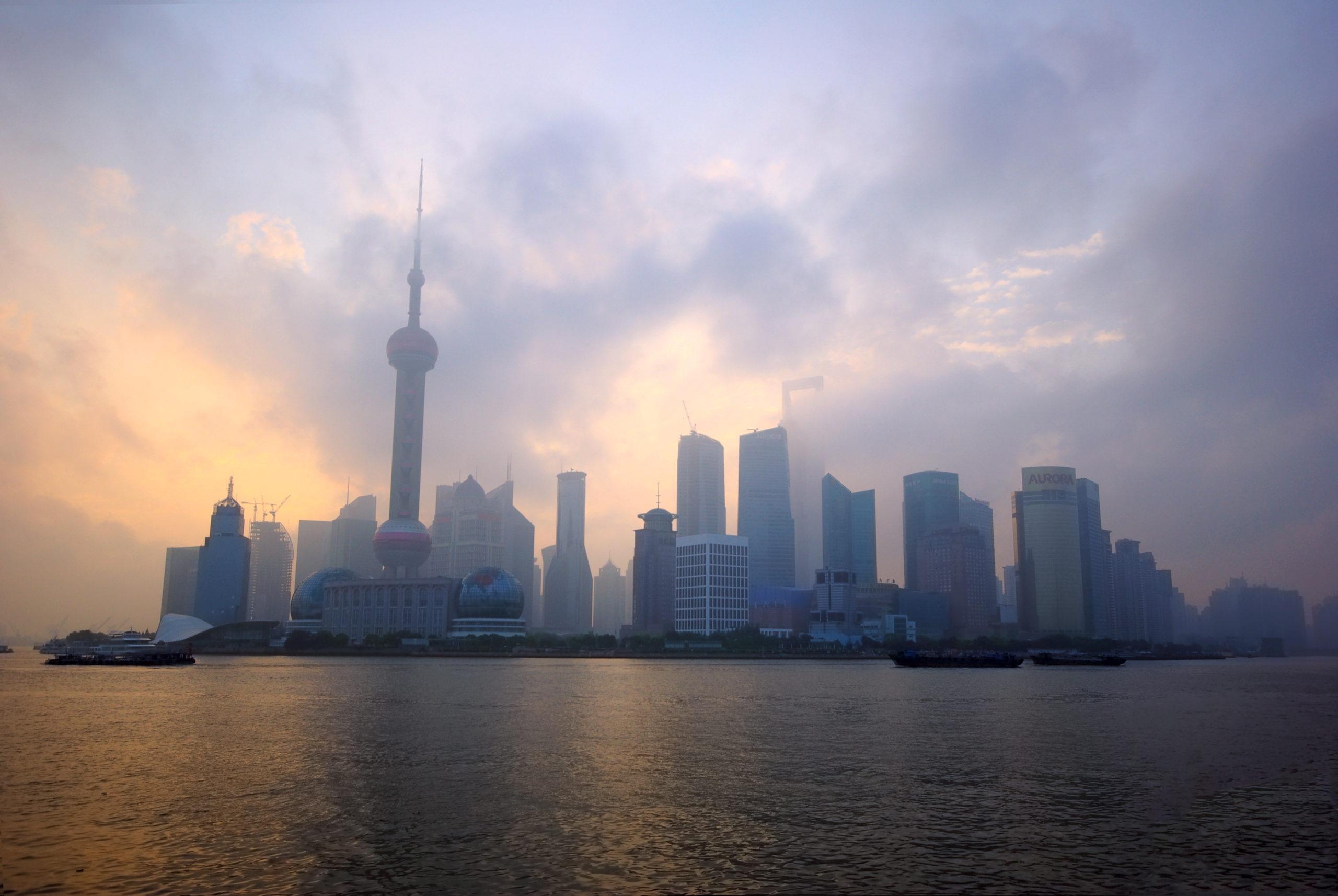 Pudong at Sunrise