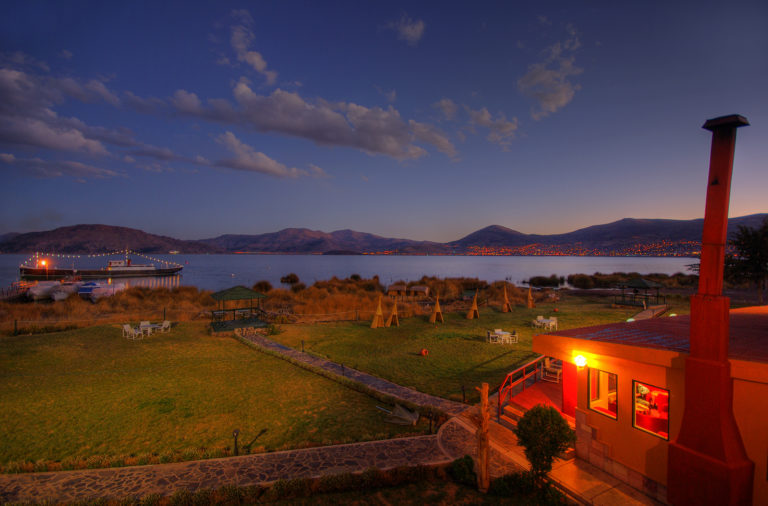 Lake Titicaca at Night