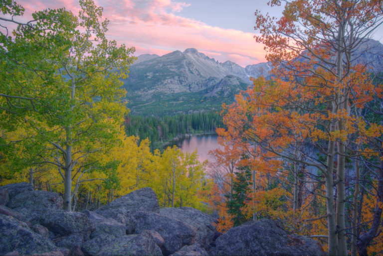 Autumn at Bear Lake