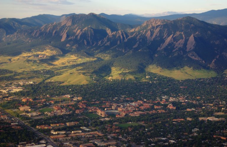 Flying Over Boulder