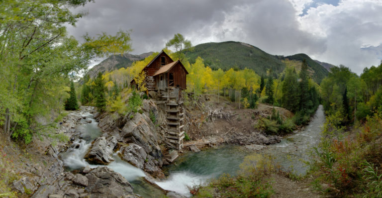 Crystal Mill Wide Angle