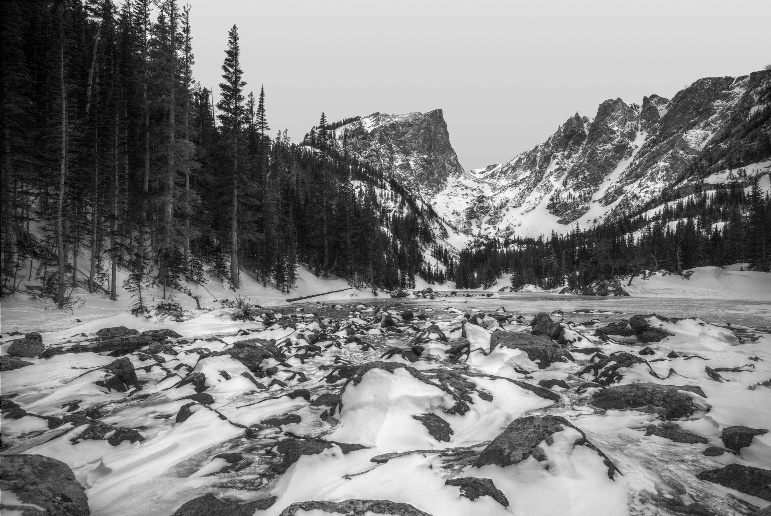 Winter at Dream Lake