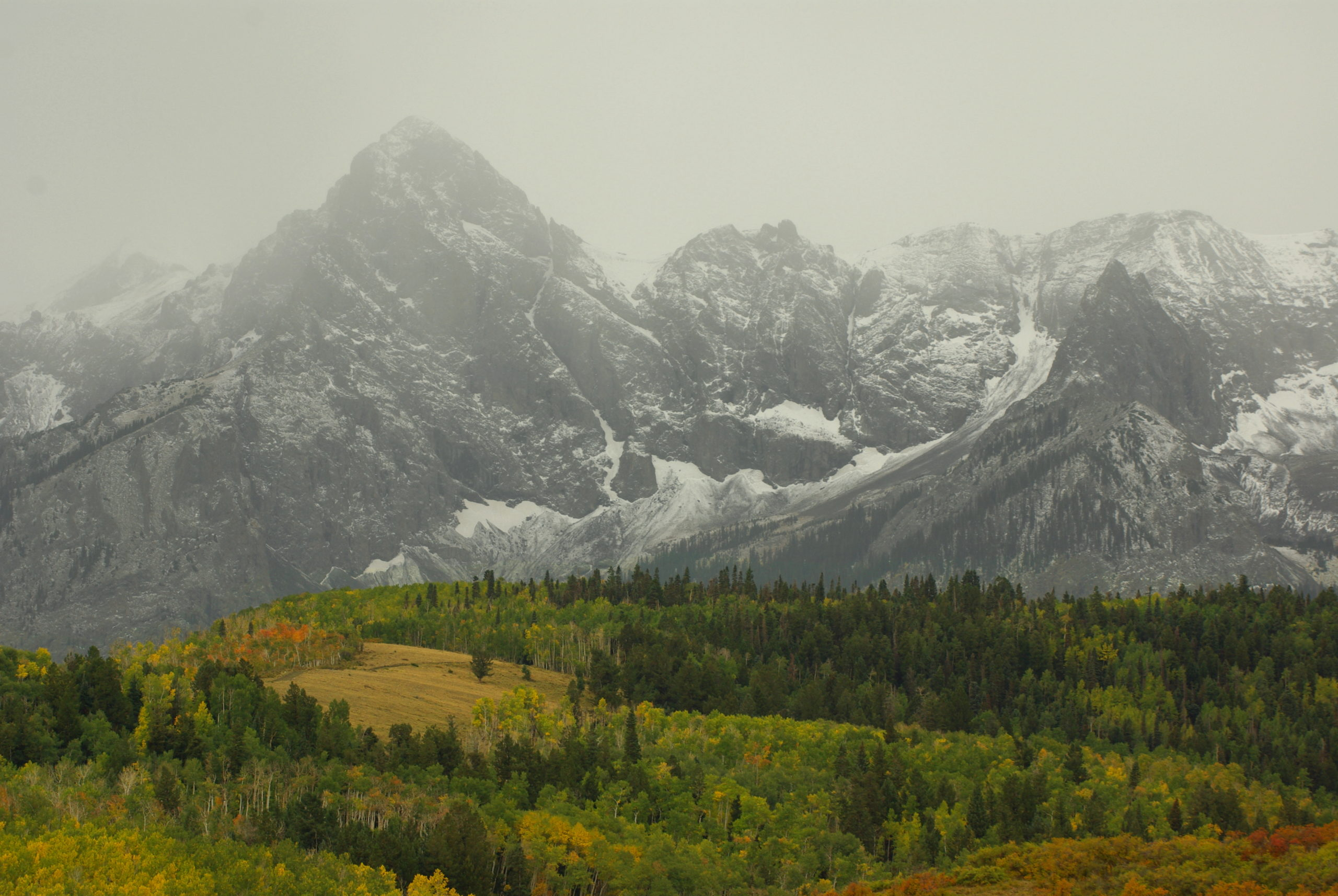 First Snow on the San Juans