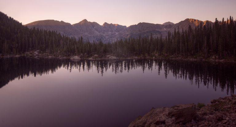 Gourd Lake Sunrise