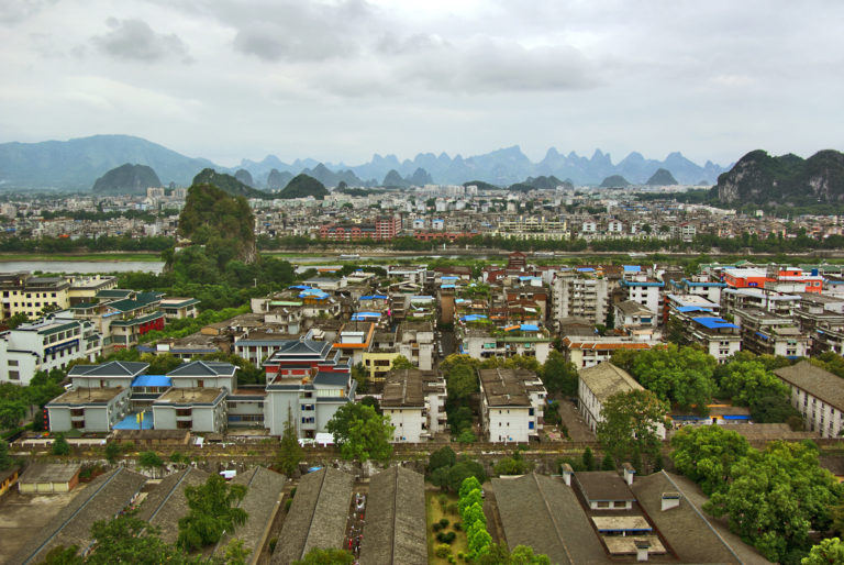 Guilin from Solitary Beauty Peak