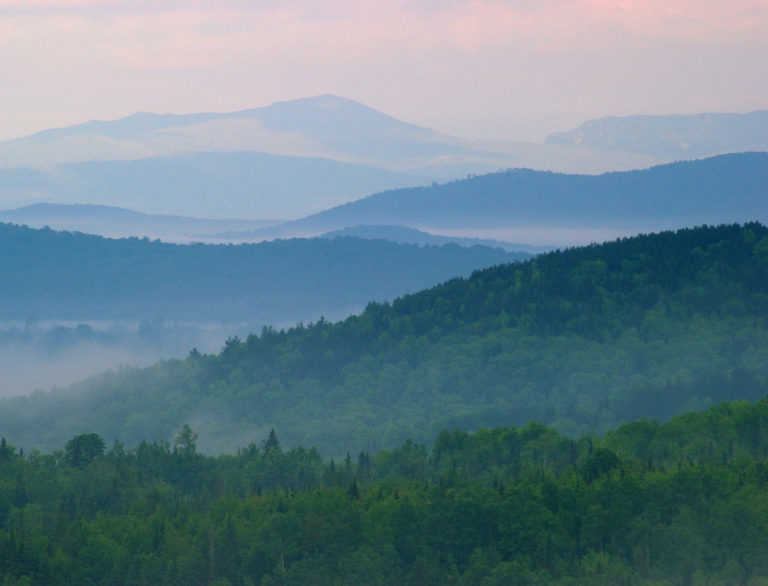 Dawn in the Northeast Kingdom