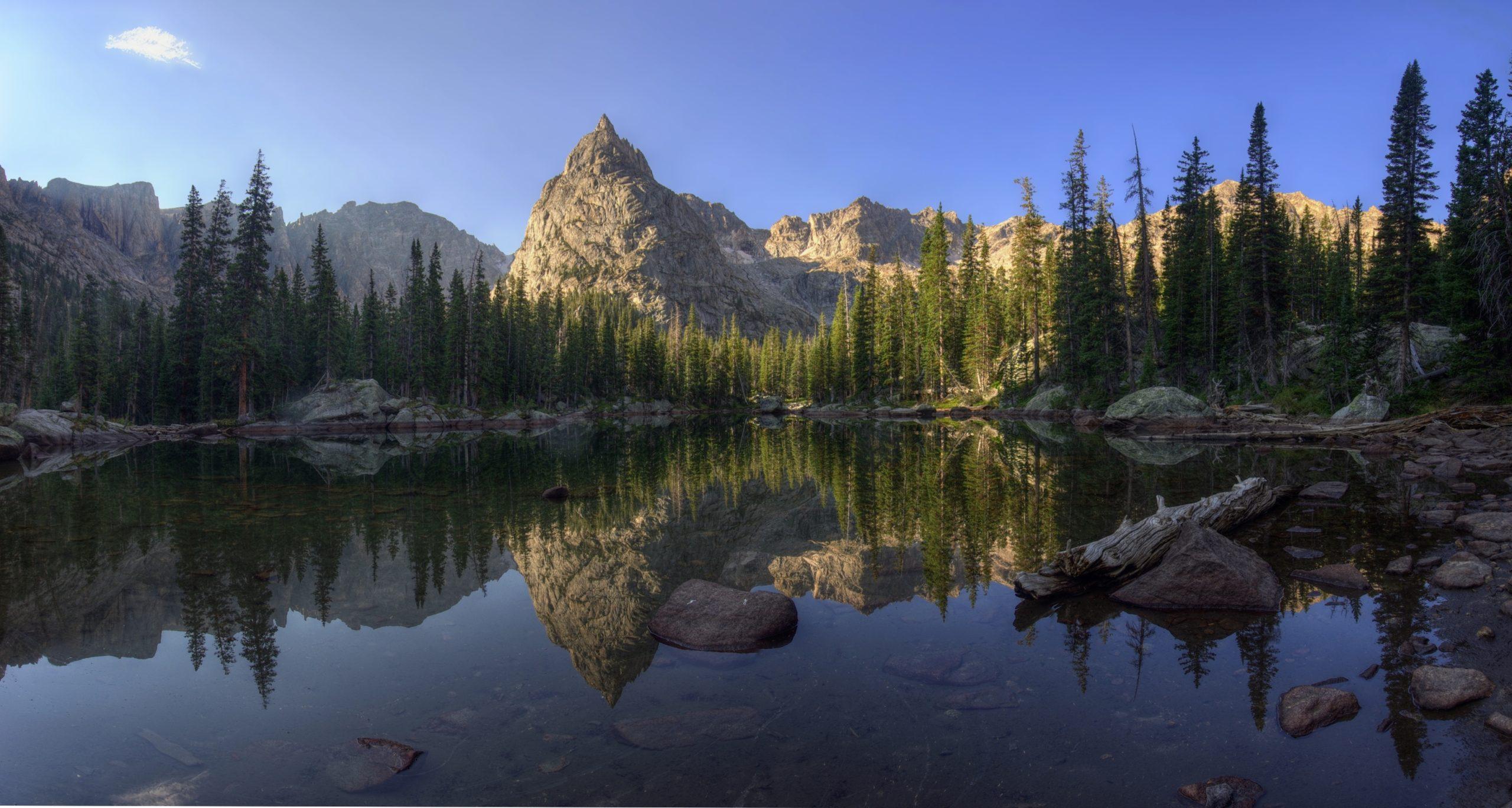 Morning at Mirror Lake