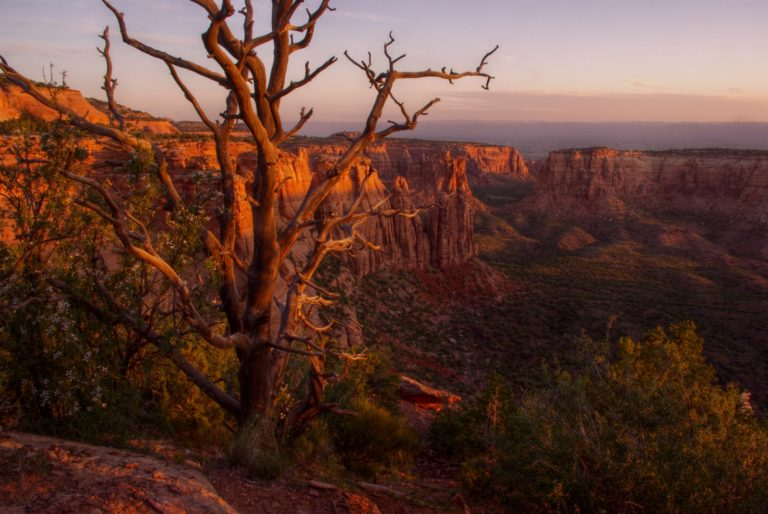 Monument Canyon Sunrise