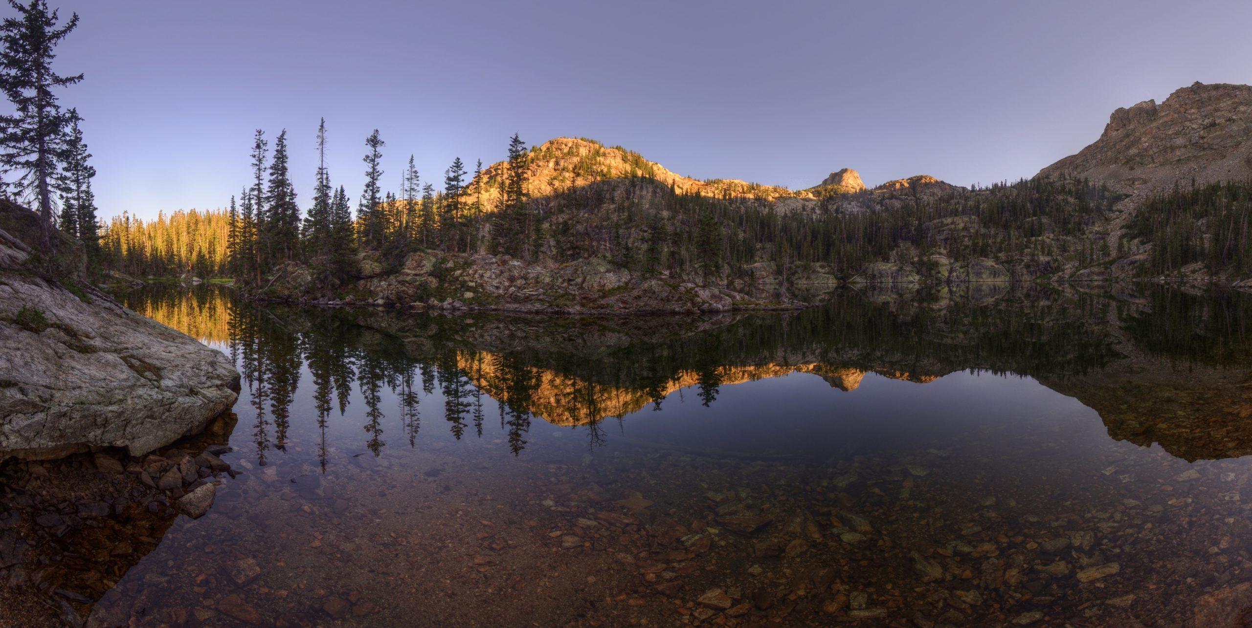 Morning at Gourd Lake