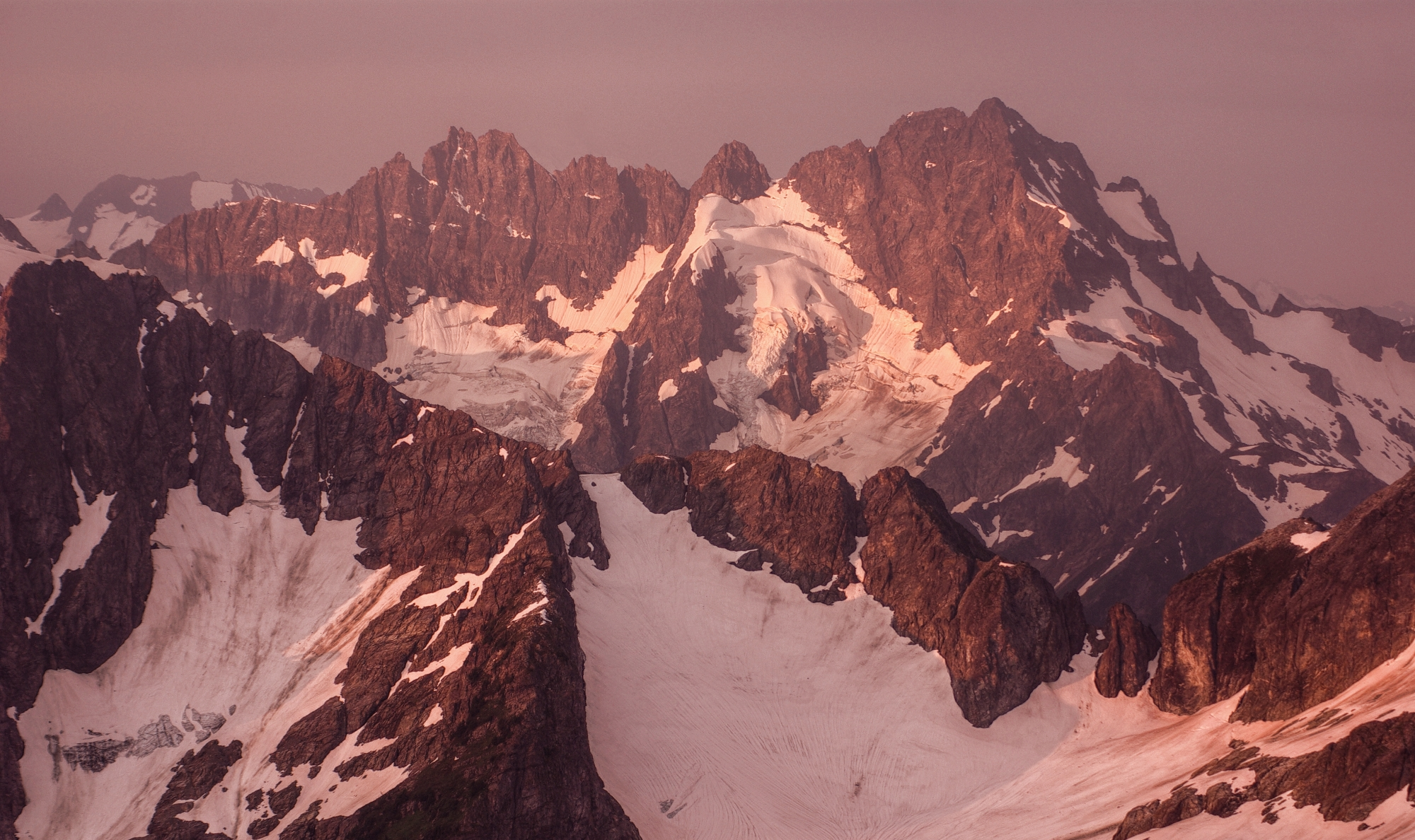 Mount Formidable at Dawn