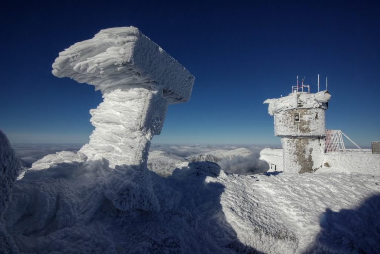 Rime Ice on Mount Washington