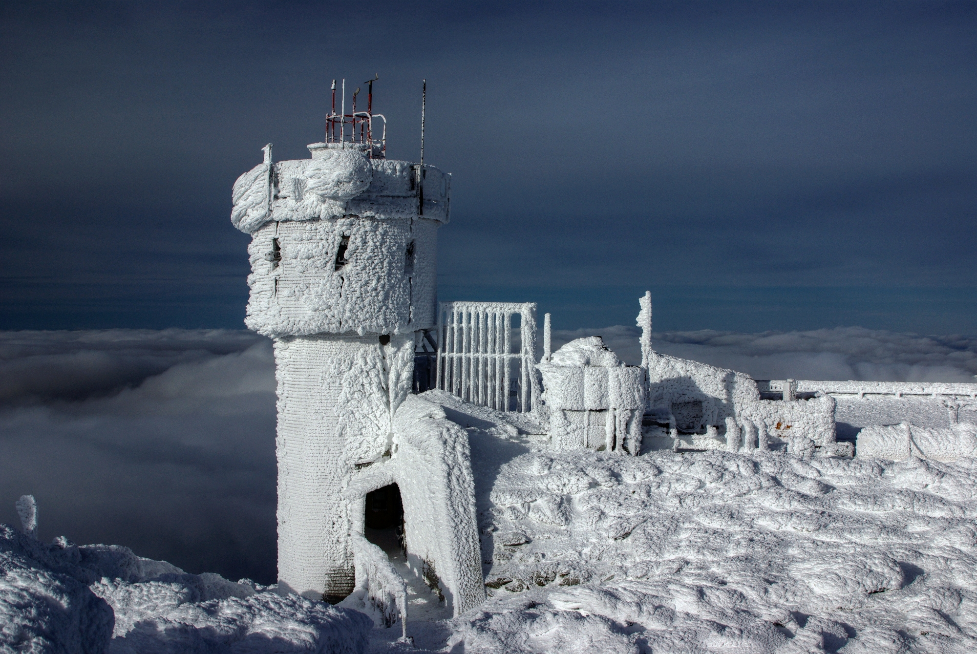 Observatory Tower in Winter
