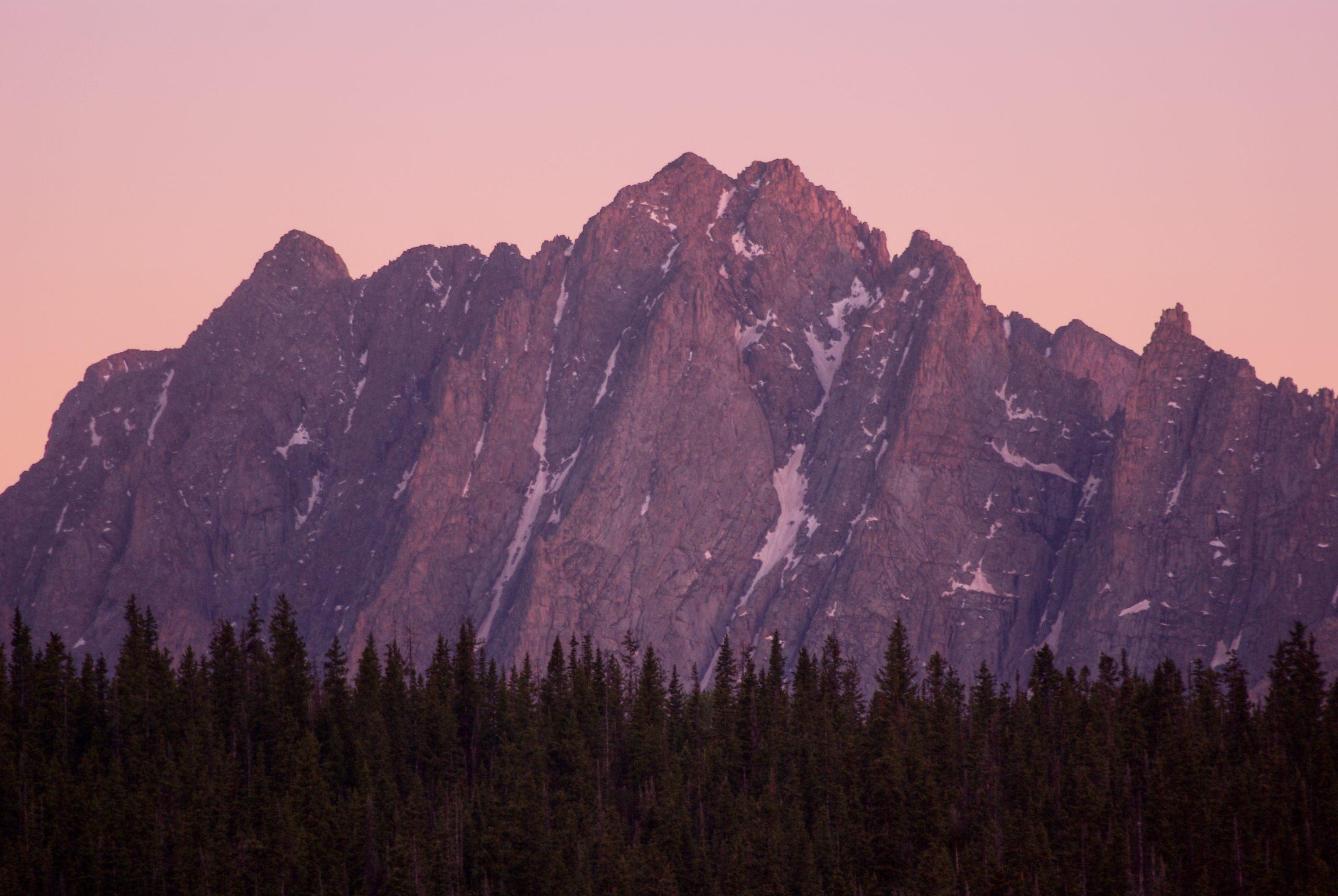 Needles Range Alpenglow