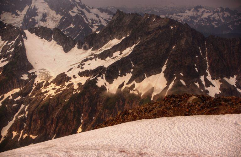 Sahale Glacier Camp Alpenglow