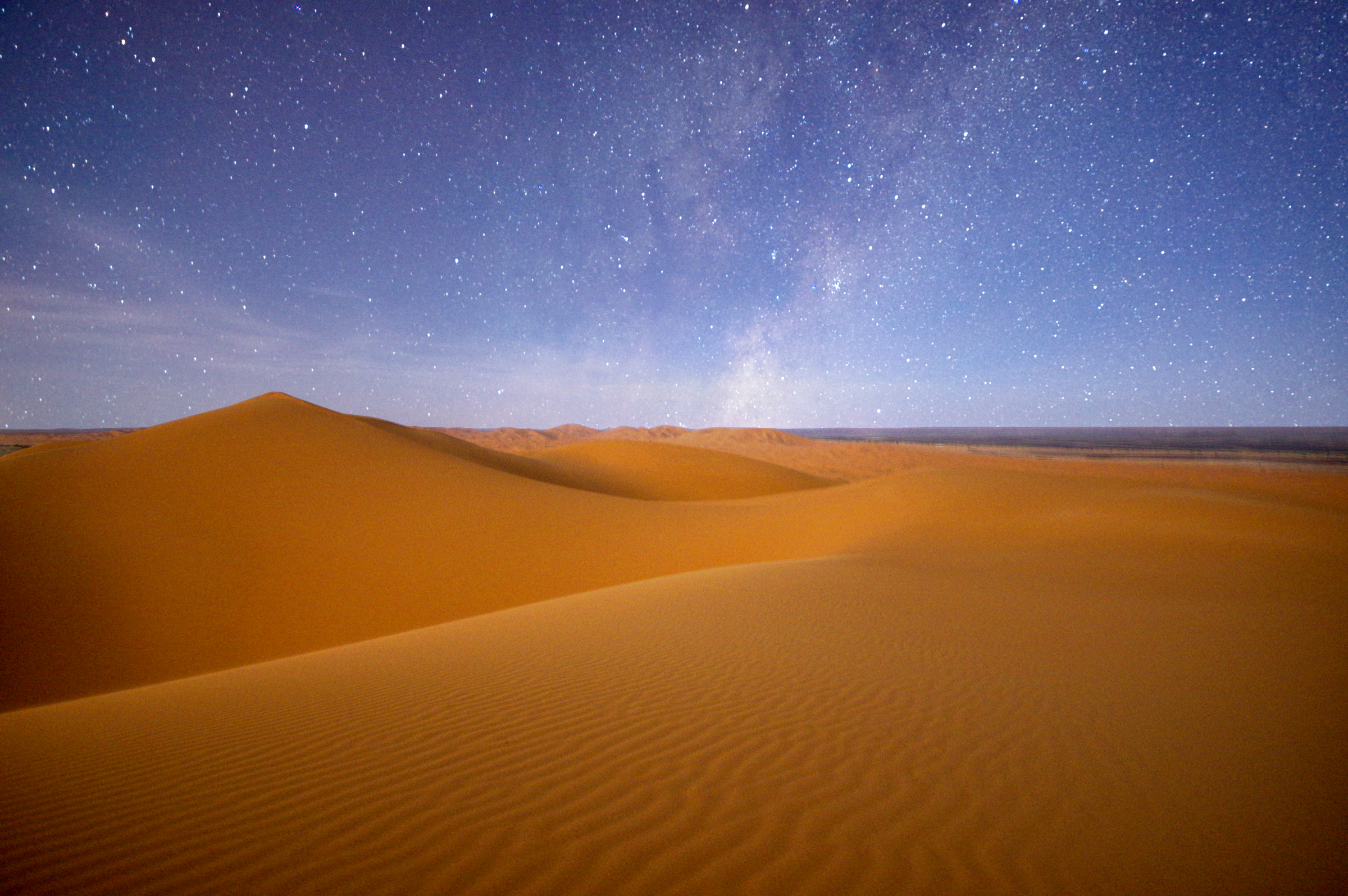 Sahara by Moonlight