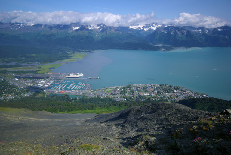 Seward from Mount Marathon