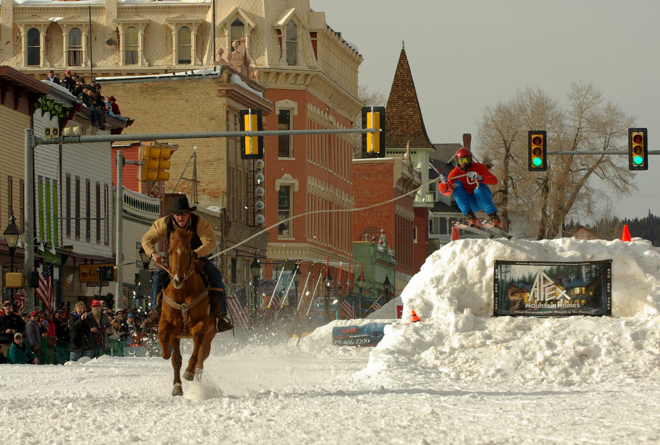 Ski Joring in Leadville