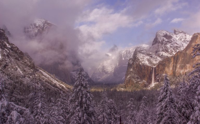 Clearing Winter Storm at Tunnel View