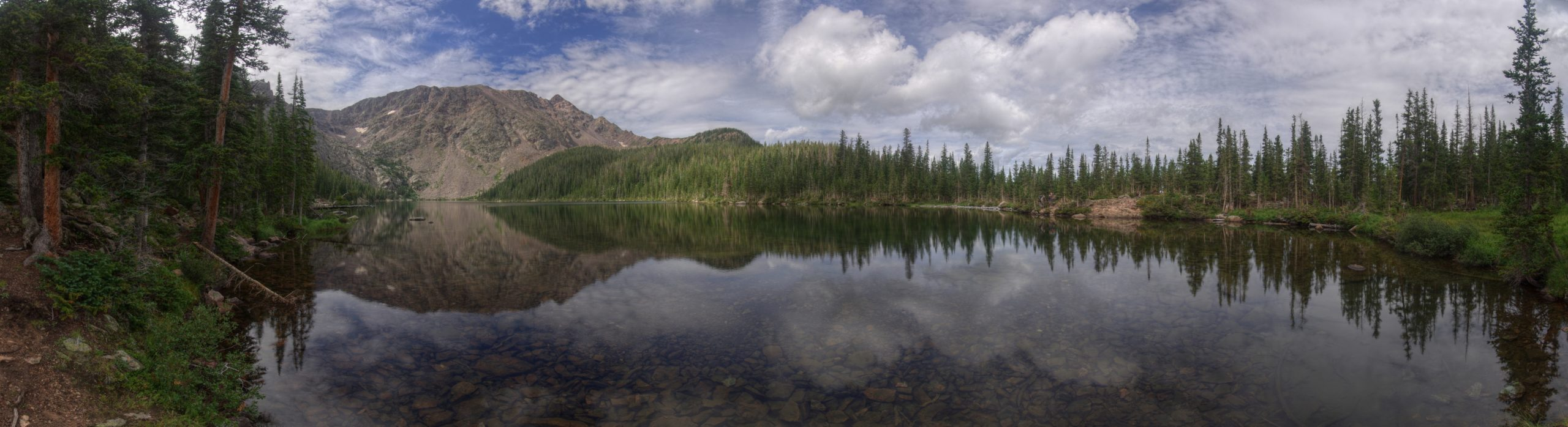 Upper Cataract Lake Panorama