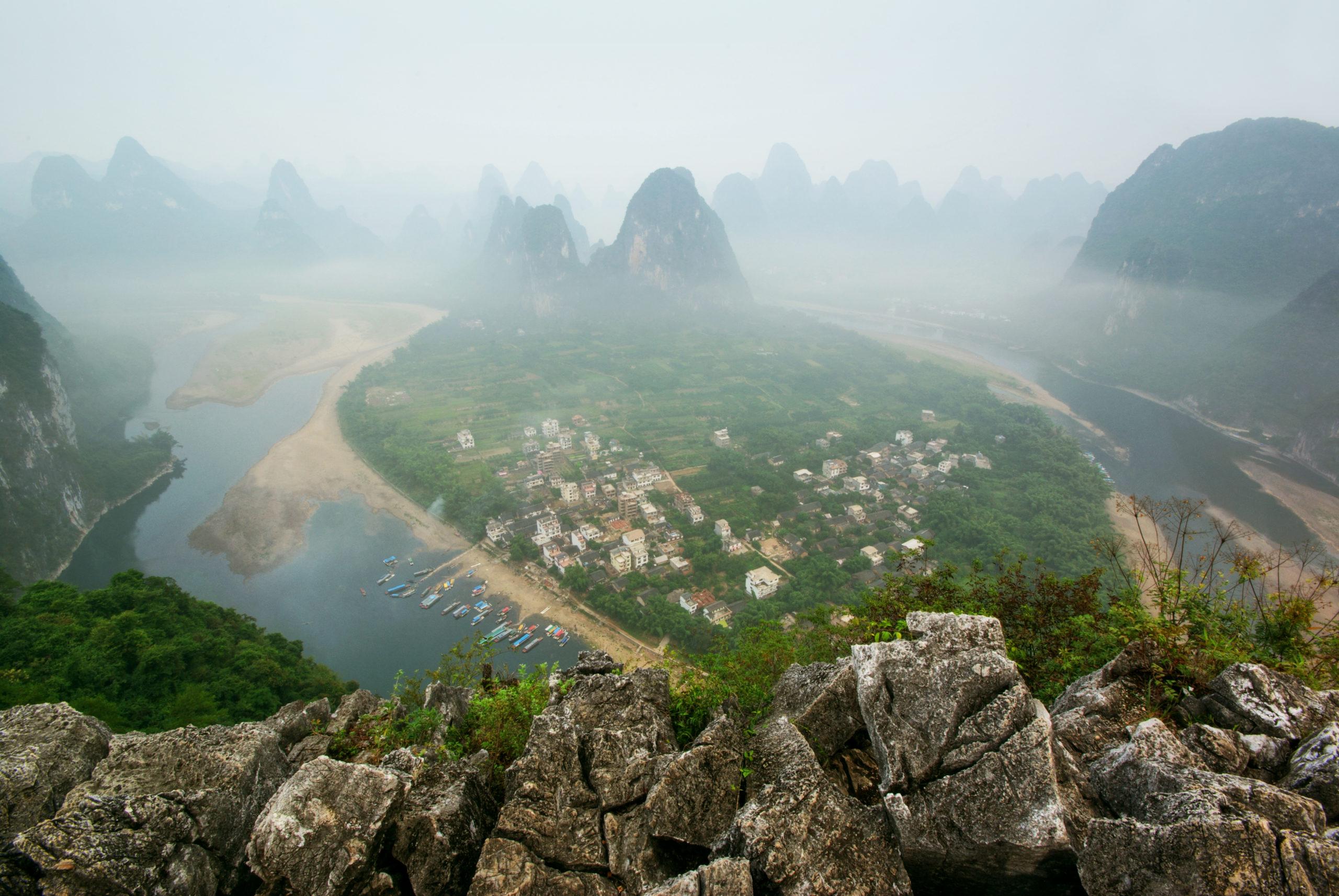 Lao Zhai Shan, Xingping Sunrise