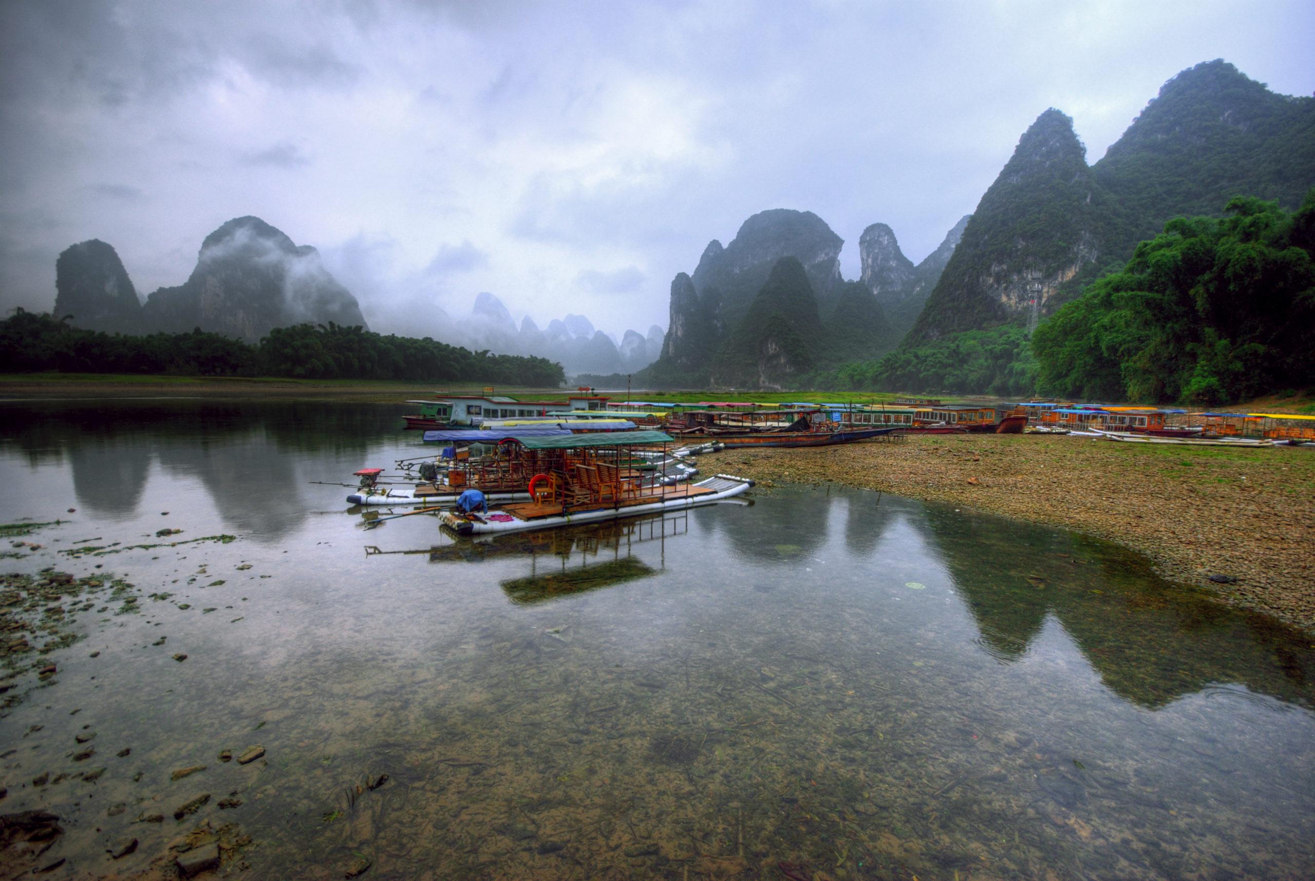 Morning in Xingping